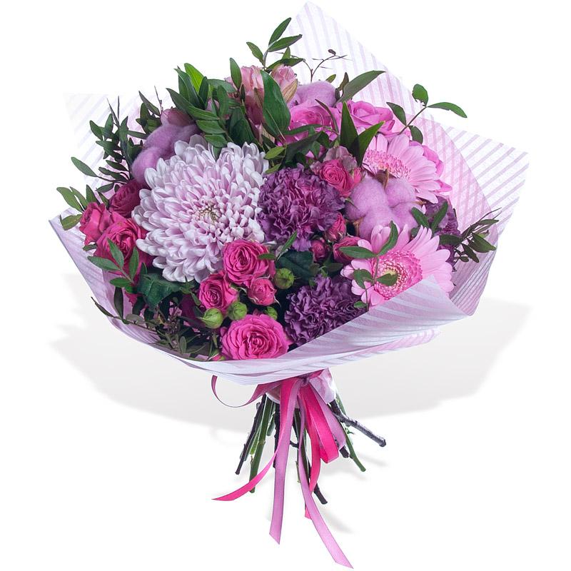 Цветов владикавказ, букет из английских роз и хризантем цена