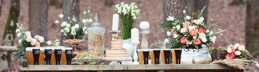 Свадебные тенденции Рустик