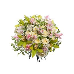 Букет из Роз, Орхидей, Латируса, Озотамнуса