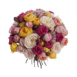 Букет из садовых роз микс