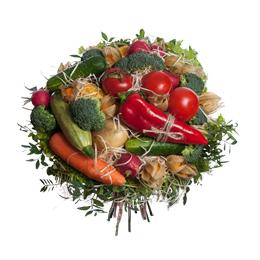 Букет из овощей и ягод