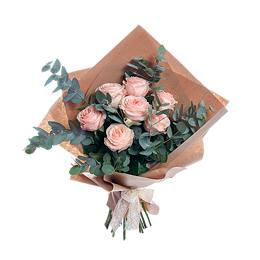 Букет из ароматной садовой розы