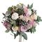 Свадебный Букет Невесты из Пионов, Розы, Брунии, Эвкалипта, Озатамнуса